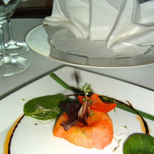 Lobster with Tomato Confit