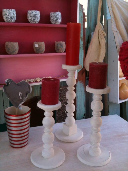 DIY Candle Holders Pottery Barn Style