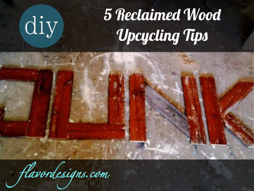 What to Do with Reclaimed Fence Wood?