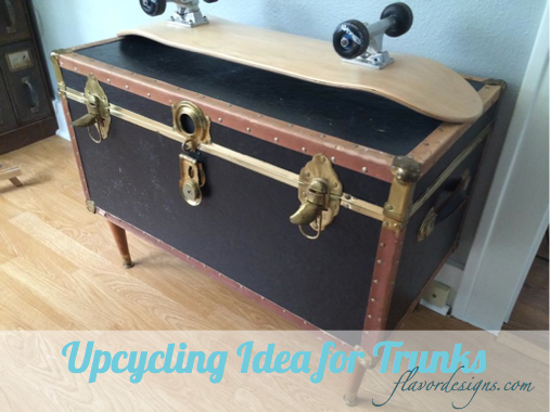 Upcycling Trunk: From Box to Storage Table