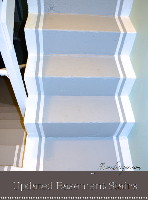 How To Paint Concrete Stairs Flavor Designs